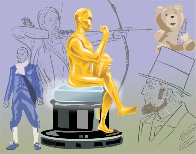 The 85th Annual Academy Awards take place tonight.