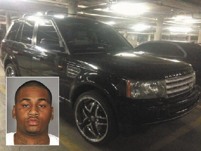 Las Vegas police have recovered this Ranger Rover they say was involved in the fatal shooting Thursday on the Las Vegas Strip. Las Vegas police have issued an arrest warrant for Ammar Harris, 26 ( ...