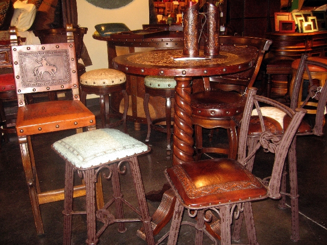 When it comes to selecting barstools, the choices are plentiful.