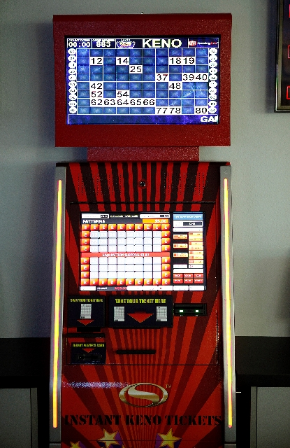 Las Vegas-based Gaming Arts LLC has created the EZ Keno Kiosk, which will let customers process their own keno tickets. The machine is being field-tested in Reno.