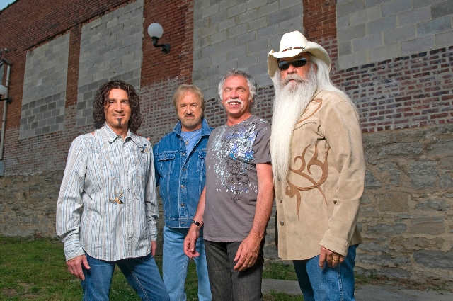 The Oak Ridge Boys will try to set the audience's heart on fire Sunday at Eastside Cannery.