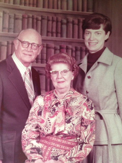 Paul Meyer, Helen Meyer and their daughter, Pauline, are shown in this undated photo.