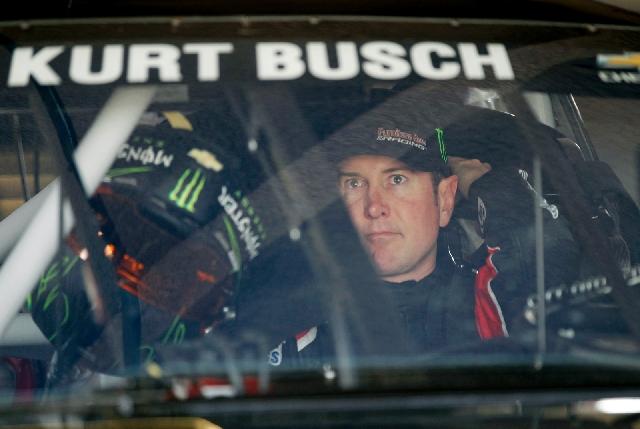 Kurt Busch, Shown Before The Daytona 500 On Feb. 24 In Daytona Beach,