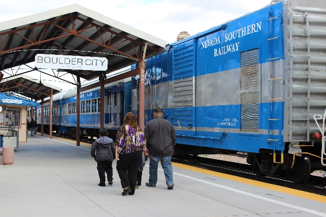 The Nevada Southern Railway in Boulder City provides a unique experience for visitors of all ages and abilities.