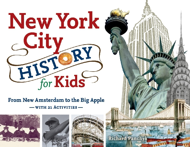 """""""New York City History for Kids"""" gives youth look at New York's early days."""