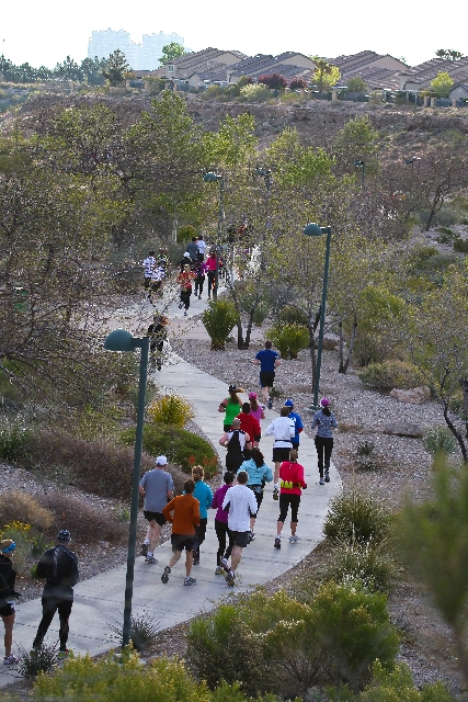 The Summerlin Half-Marathon is planned for April 13. Registration for this event and the 12th annual Tour de Summerlin is under way.