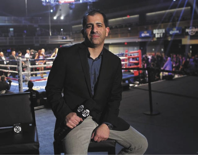 Stephen Espinoza, executive vice president and general manager of Showtime Sports, says Floyd Mayweather Jr. has the kind of star power his network needs.