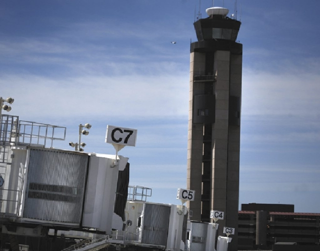 More than 200 Federal Aviation Administration employees in Las Vegas will receive furlough notices this week. Most of the affected employees are air traffic controllers working at McCarran Interna ...