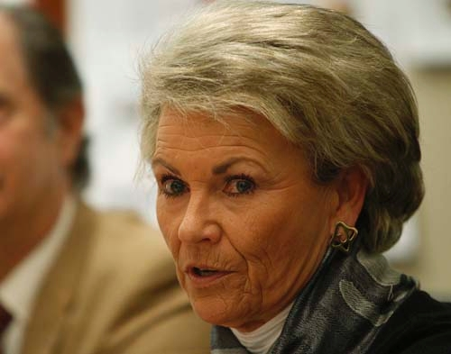 Pat Mulroy, Southern Nevada Water Authority general manager, says she was under consideration for secretary of the Interior, replacing Ken Salazar, who is stepping down.