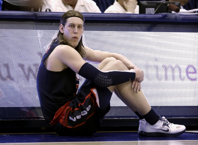 Gonzaga forward Kelly Olynyk, the West Coast Conference Player of the Year, has averaged 17.7 points and 7.0 rebounds.