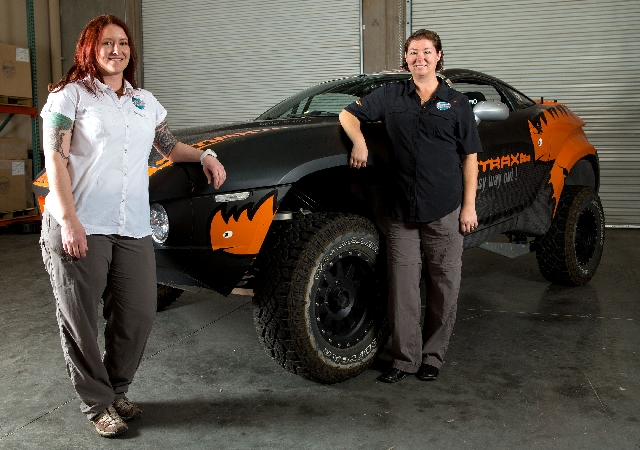 Claire Barone, left, and Julie Meddows are traveling to Morocco to compete in Rallye Aicha des Gazelles, or the Gazelles Rally, an off-road excursion through the Sahara Desert for women only.