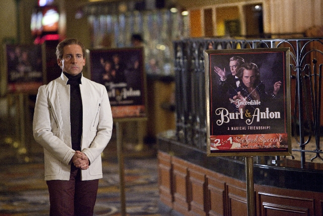"""Steve Carell stars as the titular Bally's headliner in the magical Las Vegas comedy """"The Incredible Burt Wonderstone."""""""