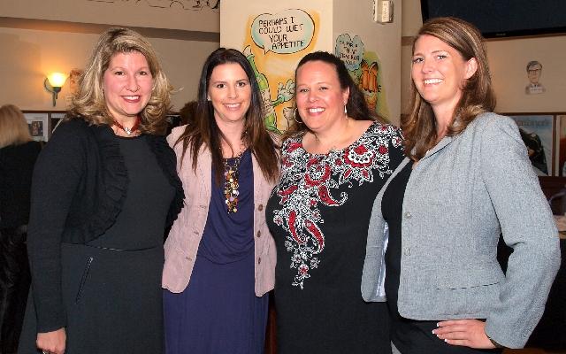 Beth Schwartz, from left, Kelly Travis, Melissa McCabe and Michelle Dillard at Luxury event
