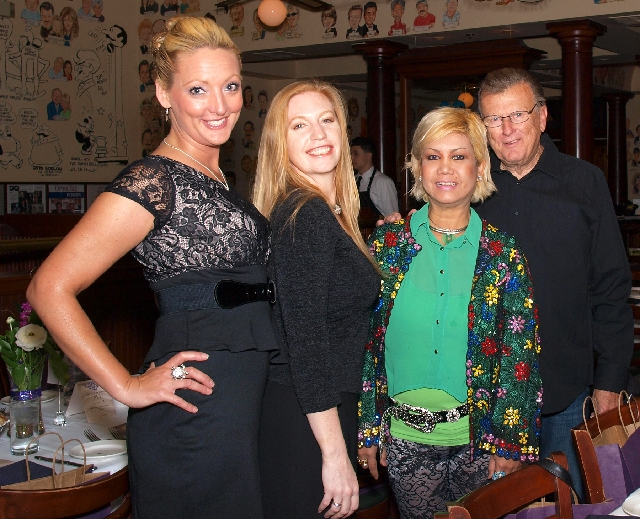 Jill Paulson, from left, Amber Carter, Maria Caudle and Jack Sanders at Luxury event
