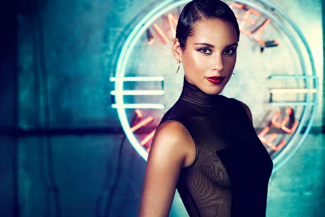 Alicia Keys performs at 8 p.m. today at Mandalay Bay Events Center.