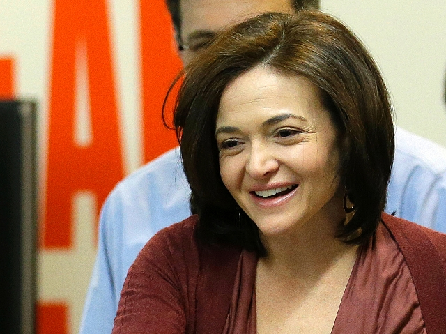 Facebook's Sheryl Sandberg on mission to elevate women   Las