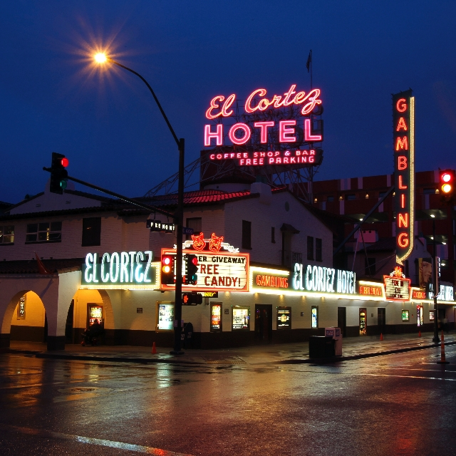 The El Cortez was recently added to the National Register of Historic Places.