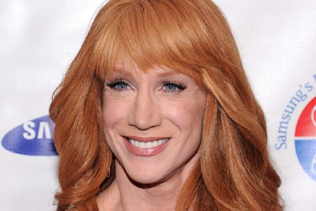 Comedian Kathy Griffin will perform at The Mirage on Friday.