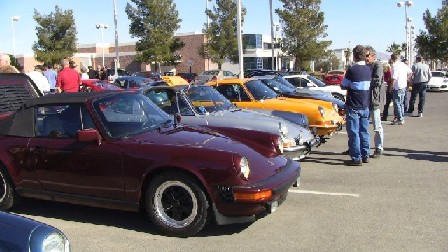More than 50 Porsches are expected to be displayed at Gaudin Porsche of Las Vegas Saturday for the Porsche Club of America-Las Vegas' open house and car show.