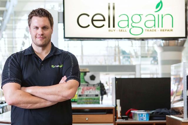 Spencer Orien, vice president of franchise development for Cell Again.