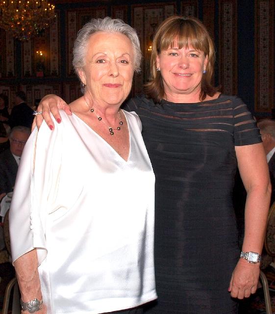 Rhonda Evans, left, and Leah Benjamin