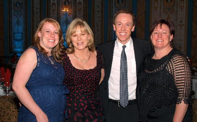Maggie Raye, from left, Mary Kaye Cashman, Jim Cashman IV, and Jennifer Green