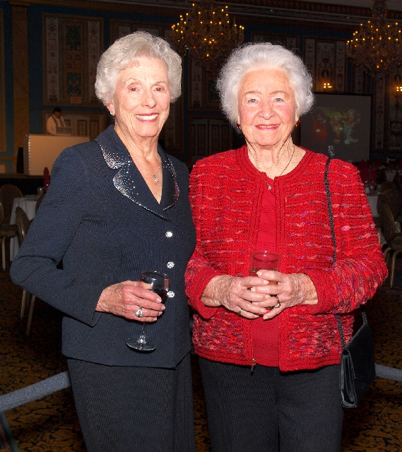 Charlotte Smith, left, and Mary Cashman