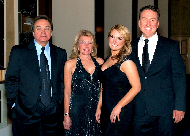 Louis and Sandra  Iannone, from left, and Kara and Neil Huffey