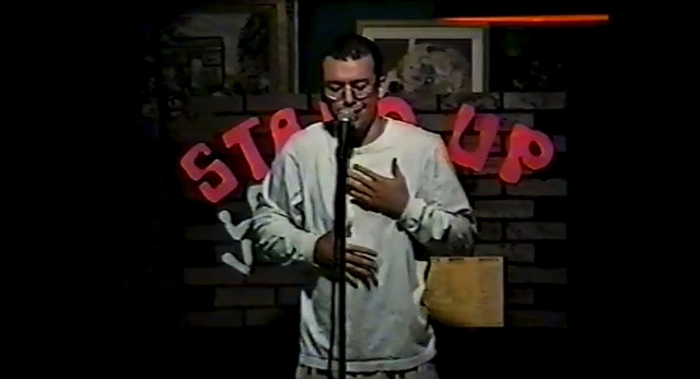 As Jo Koy's confidence as a comedian grew, he began doing stand-up at places such as Buzzy's Cafe, where he's pictured performing in 1993.