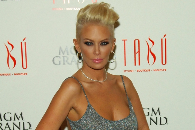 Former porn star Jenna Jameson, shown hosting at Crazy Horse III strip club in Las Vegas, said she is penning a sequel to her best-selling 2004 autobiography.