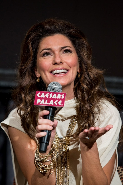 Shania Twain was at the One Drop benefit.