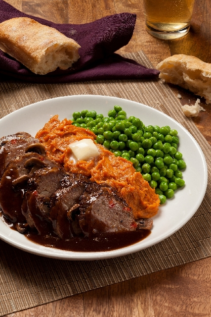 Tavern-style meatloaf