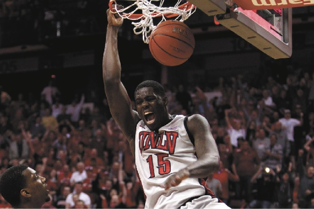 UNLV freshman forward Anthony Bennett, shown dunking against San Diego State on Feb. 16, will be a top-five NBA Draft pick, experts agree.