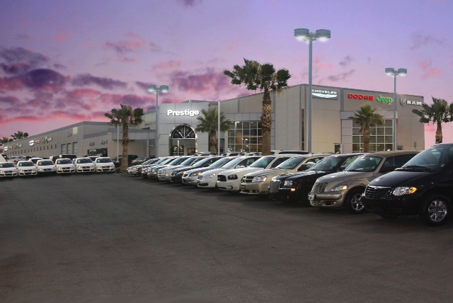 "Prestige Chrysler Jeep Dodge was ranked No. 1 in customer satisfaction by the Chrysler Corp. The dealership, owned by Josh ""Chop"" Towbin, is part of the Towbin Automotive Group and is  ..."