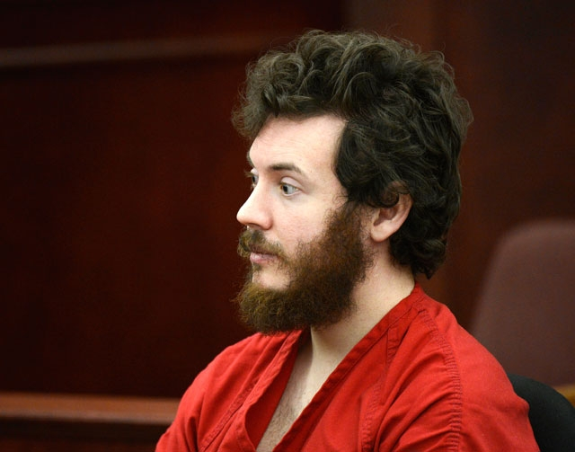 This March 12 file photo shows James Holmes, Aurora theater shooting suspect, in the courtroom during his arraignment in Centennial, Colo.