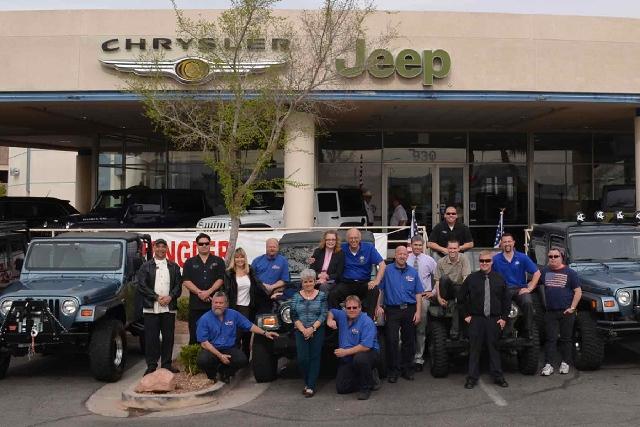 Chapman Dodge Las Vegas >> Chapman Workers In Love With Jeep Las Vegas Review Journal
