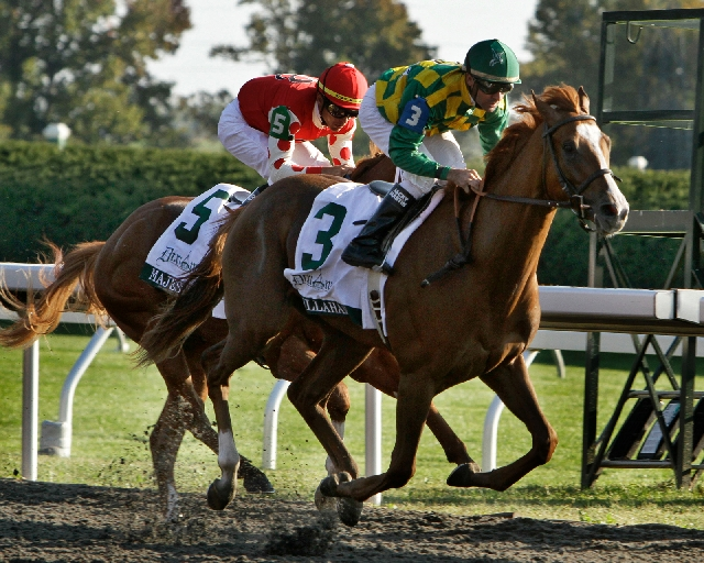Dullahan, right, is one of three U.S. horses in the field for the $10 million Dubai World Cup on Saturday.