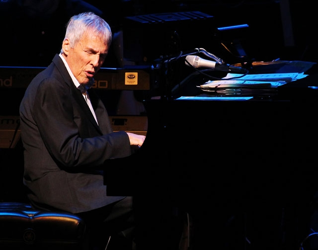 Burt Bacharach, 84, delights the audience with his well-known songbook at Reynolds Hall in The Smith Center on Thursday night. He was backed by a trio of singers and a nimble band.