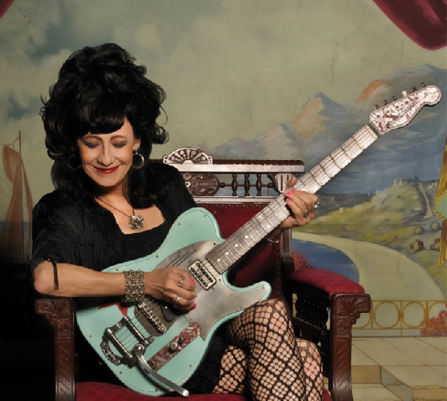 Rosie Flores is just one of the performers playing this weekend's Viva Las Vegas.