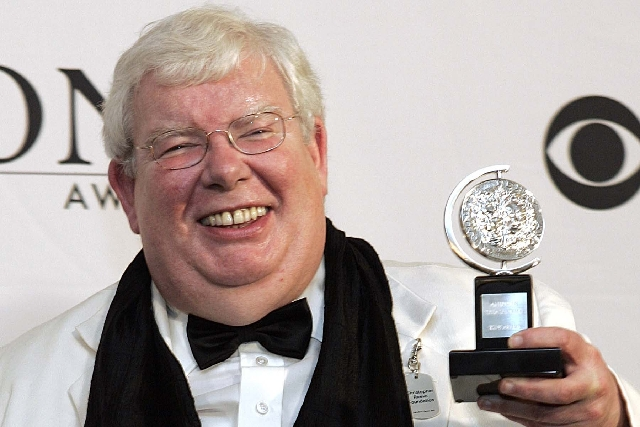 "Richard Griffiths of ""The History Boys"" poses for a picture with his Tony for best performance by a leading actor in play at the 60th Annual Tony Awards in New York in 2006. Griffiths, ..."