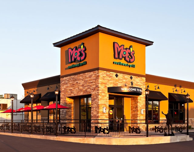 Moe's Southwest Grill plans to open eight stores in the Las Vegas Valley.