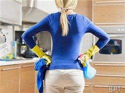 Cleaning the right way to remove allergens