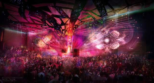 The new Light nightclub at Mandalay Bay, seen in an artist's conception, now is set to open Memorial Day weekend.