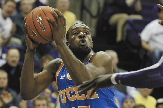 UCLA guard Shabazz Muhammad, a former basketball standout at Bishop Gorman High School, announced Tuesday he is entering the NBA draft.