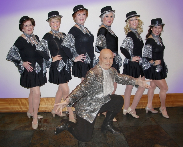"John Rothman, front, plans to head up a new monthly production showcasing the talents of the Sun City MacDonald Ranch community starting with ""One Night In Vegas,"" scheduled for April 7."