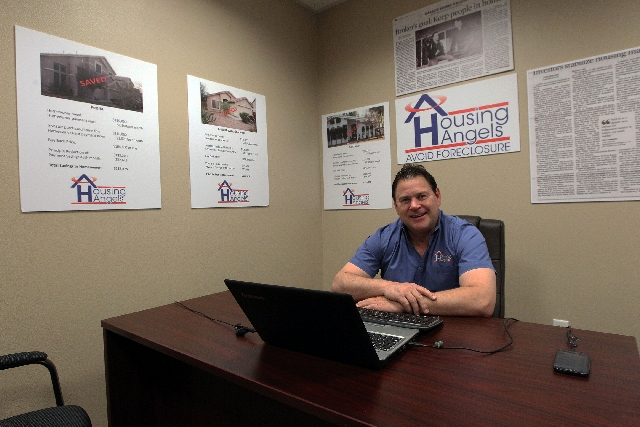 Dave Dziedzic poses in his office he says he came up with the idea for Housing Angeles  partly from personal experience and partly from other business dealings.