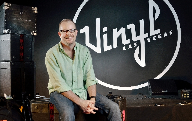 Max McAndrew, bookings and operations manager for Vinyl.