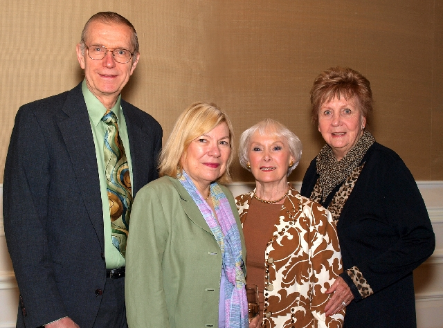 Chris and Anita Murray, from left, Joan Berry and Shelia McKay