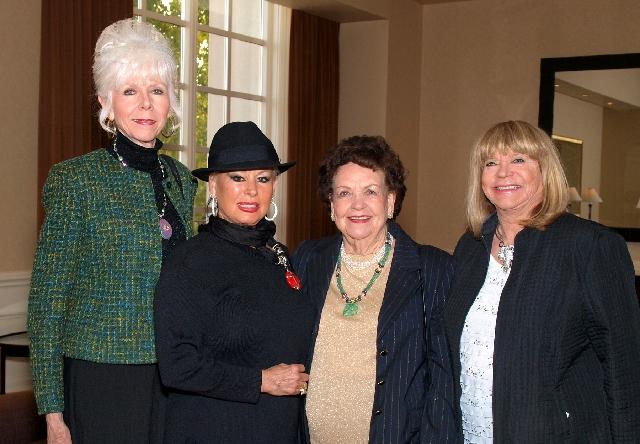 Diane Carvuana, from left, Bobbi Swimmer, Wynn Schottelkorb and Mary Bennett