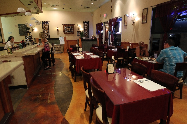 Patrons dine at Lilly's Thai & Vietnamese restaurant. More traditional fare is offered instead of the exotic found in Chinatown.